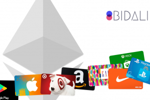 Bidali now allows you to buy gift cards from over 100 top brands with Ethereum