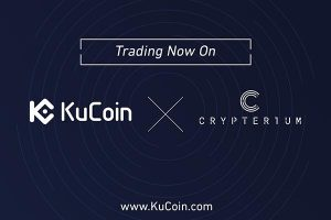 KuCoin Exchange Proudly Announces The Listing Of Crypterium (CRPT)