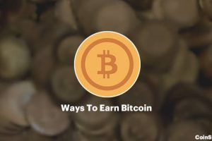 The 5 Most Popular Ways To Earn Bitcoin