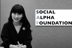 Nydia Zhang of the Social Alpha Foundation: Using the Blockchain for Good